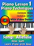 Piano Lesson #1 -  Easy Piano Techniq...