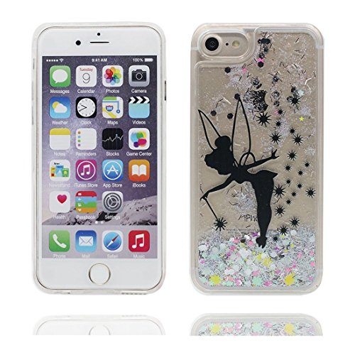 "iPhone 6S Coque, Skin Hard Clear étui iPhone 6 / 6S, fée Fariy- Design Glitter Bling Sparkles Shinny Flowing iPhone 6 Case Shell 4.7"", Apple iPhone 6S Cover 4.7"", résistant aux chocs # 7"