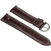 Maurice Lacroix ternero de búfalo-Chrono correa de reloj - correa de piel de ternero coloures 25620S, coloures: marrón