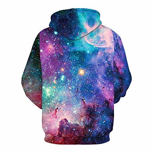 Imagen de sudadera con capucha hombre 3d impresión pullover sudaderas de tendencia hoodie sweatshirt de mangas largas bolsillos unisex alternativa