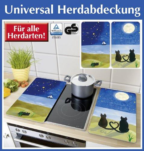 Wenko 2521140500 coprifornelli universal cats set 2 pezzi for Costruisci tu stesso piani di casa