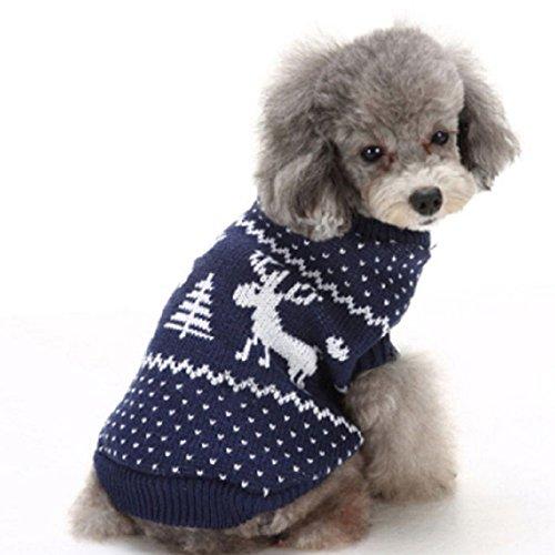 r Jumper Mantel Strickwaren Pullover Doggy Jacke Katze Frühling Overall Hoodies Puppy Kleidung für kleine mittlere große Hunde Pullover 03 (Katze Halloween-kostüm Für Meine Mädchen)