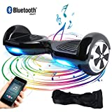Windgoo Hoverboard Bluetooth 6,5 Pouces,Overboard 700W Self Balance Board avec LED Smart Scooter pour Enfants et Adultes