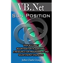Sun Position - High accuracy solar position algorithms - a resource for programmers and solar energy engineers (VB.Net Programming by Example Book 2) (English Edition)