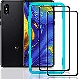 Ibywind Xiaomi Mi Mix 3 Pellicola in vetro [2 Pezzi] -3D Protezione completa anche dei bordi Realizzata in vetro temperato di prima qualità...