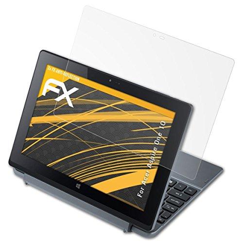 atFoliX Protecteur d'écran pour Acer Aspire One 10 Film Protection d'écran - 2 x FX-Antireflex anti-reflet Film Protecteur