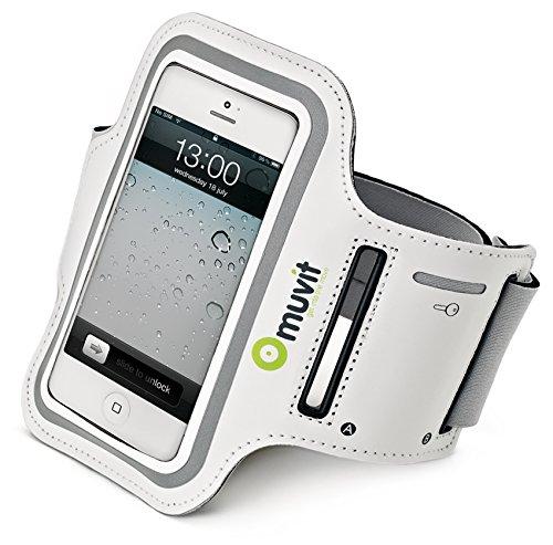 muvit Armband für Apple iPhone 5/iPod Touch 5G weiß Ipod 5g Armband