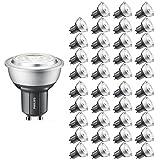 Philips GU10-LED-Spot, 3000K, 272lm, Master-LED, dimmbar, Neutralweiß, 40 Stück, GU10