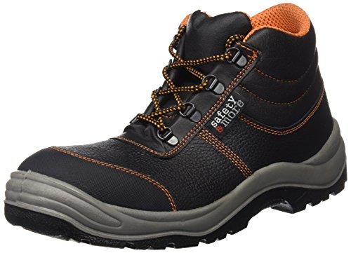 Sicherheitsstiefel S3 2442-0-100-41 Stiefel, Stahlkappe- Unisex Schneestiefel & Stiefel, Größe 43, Farbe: schwarz