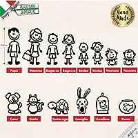 Adesivi personalizzati Famiglia
