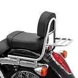 Sissy Bar + portapacchi Honda Shadow VT 750 C/ C2/ C4 04-15