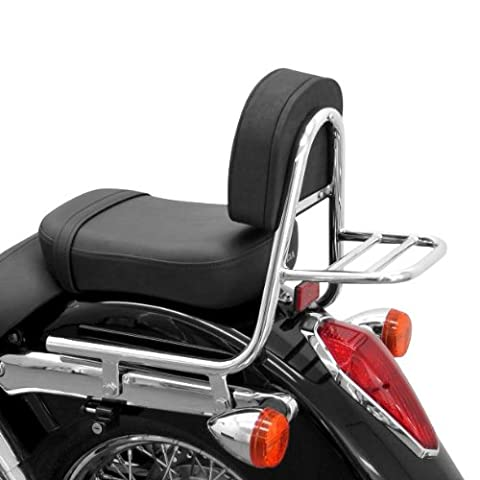 Sissy Bar + rear rack Honda Shadow VT 750
