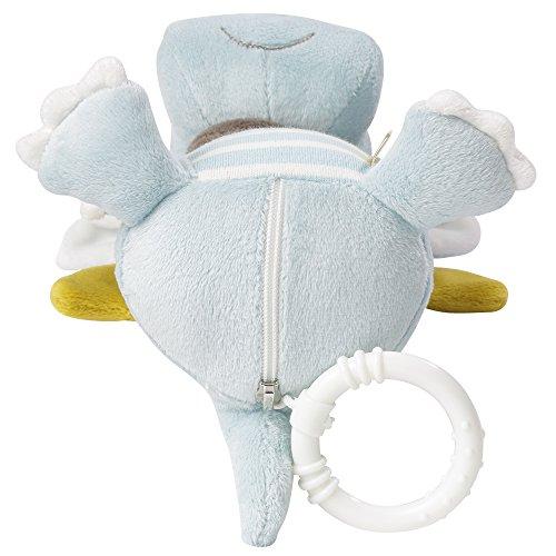 Fehn 065015 Spieluhr Drache/Kuscheltier mit integriertem Spielwerk mit sanfter Melodie zum Aufhängen an Kinderwagen, Babyschale oder Bett, für Babys und Kleinkinder ab 0+ Monaten - 2