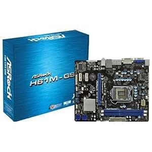 ASRock H61M-GS Carte mère ATX Intel H61 1155 Socket
