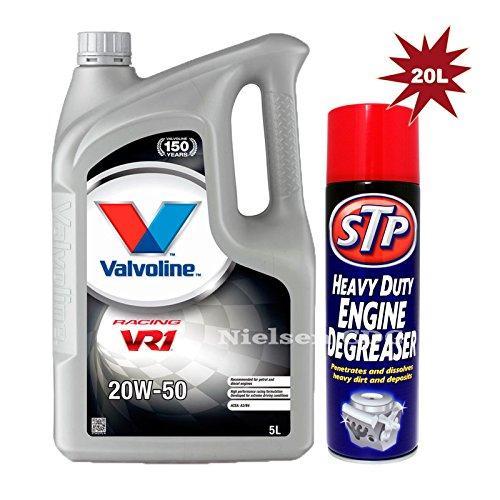 valvoline-vr1-racing-20w-50-engine-oil-20l-stp-heavy-duty-engine-degreaser-500ml