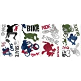 Extreme Sports (NEW) Peel & Stick Wall Decals