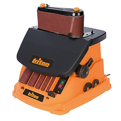Preisvergleich Produktbild Triton 977604 oszillierender Spindel- und Bandschleifer, 450 W Tspst450, 450 W, 0 V