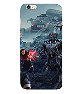Doyen Creations Designer Printed High Quality Premium case Back Cover For Apple Iphone 6