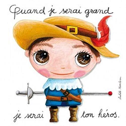 Label Tour, Tableau Quand Je Serai Grand, Je Serai Ton héros