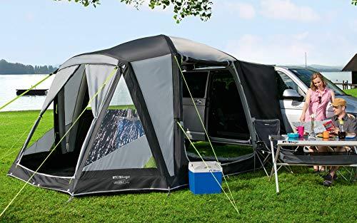 Berger Busvorzelt Liberta-L Deluxe Vorzelt Freistehend Zelt WS3000mm aufblasbar Moskitogaze Camping
