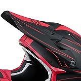 Shoei vfx-w motocross casco di ricambio per/Peak-frenetico TC1
