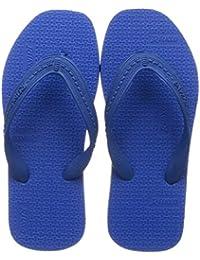 Relaxo Plus Unisex Kids' CU0023C Blue Black Slippers - 1 Kids UK (33 EU) (CU0023C_BLBK0001)