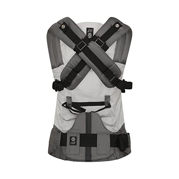 LÍLLÉbaby  Complete Embossed 6-in-1 Baby Carrier, Mystique Grey Lillebaby 6 carrying positions - foetal, infant inward, outward, toddler inward, hip, back Suitable from 3.2- 20kg (birth to approx. 4 years old Luxurious, breathable microfiber 4