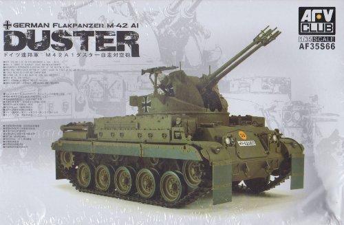 AFV-Club AFV35S66 German Flakpanzer M-42 A1 Duster, Fahrzeuge