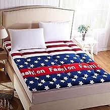 HAOLY Espesar la Almohadilla de Franela colchón de Tatami Alfombrilla Futón japonés,Dormir cojín colchón