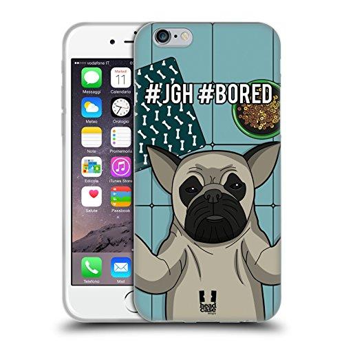 Head Case Designs Pinguin Tier Selfie Sammlung Soft Gel Hülle für Apple iPhone 6 / 6s Boxer