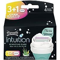 Wilkinson Sword Intuition Sensitive Care 3cuchillas de afeitar + 1hoja gratis