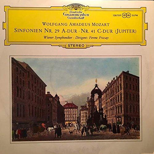 Wolfgang Amadeus Mozart , Wiener Symphoniker Dirigent : Ferenc Fricsay - Sinfonien Nr. 29 A-Dur - Nr. 41 C-Dur (Jupiter) - Deutsche Grammophon - 138 709 SLPM