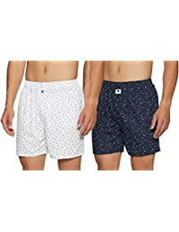 Amazon Brand - Symbol Men's Boxers (Pack of 2)
