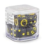 Blood Bowl The Game of Fantasy Football Goblin Team Würfel Set (7 Blood Bowl Würfel)