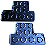 MINI Genuine Rear Rubber Floor Mats Set For R50 R53 51470300918