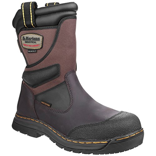Dr Martens Turbine ST Rigger Safety Boot Brown - 11 Rigger Boot