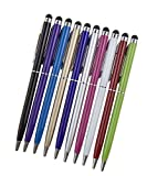 Msqin® 2in 1di precisione universale touchscreen capacitivo penna per tutti i dispositivi touch screen immagine