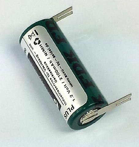 Ersatz-Akku (OB21) für elektrische Zahnbürste für Braun Oral B Professional Care 9500 Serie -NiMH- 2100mAh