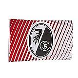 Fahne SC Freiburg - rapeau / bandera / Flag / Flagge / Banner Saum Fahne