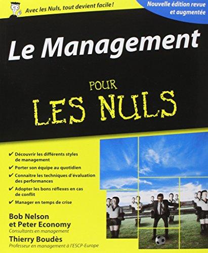 Le management pour les Nuls par Bob Nelson, Peter Economy