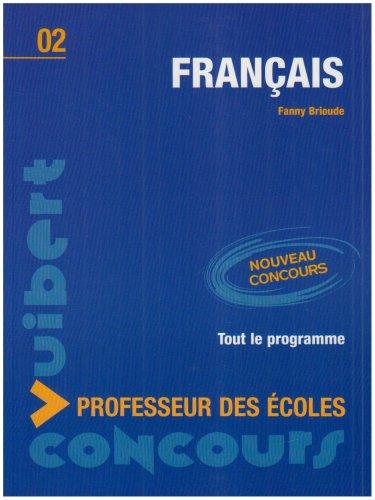 Concours Professeur des écoles (4e Edt Français N.2)