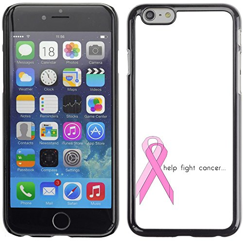 Graphic4You Keep Calm and Fight Cancer And Win Design Harte Hülle Case Tasche Schutzhülle für Apple iPhone 6 Plus / 6S Plus Design #1