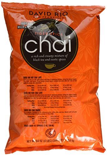 David Rio - Tiger Spice Chai, Pappwickeldose (1 x 1.814 kg) -