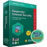 Kaspersky Internet Security Latest Version - 1 PC, 1 Year (CD)