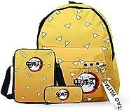 Kid's School Bag Backpack Anime Demon Slayer Kimetsu no Yaiba Printed School Bag Customized Backpack Stude
