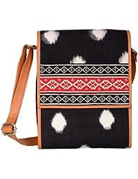 Kalamargam Collective Handwoven Ikat Women's Sling Bag