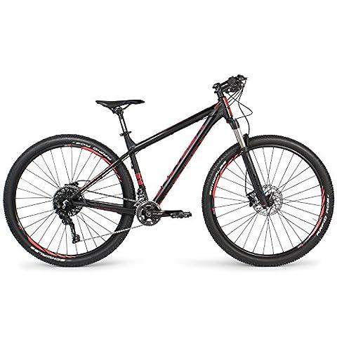 Univega Herren Summit Ltd Fahrrad, Magicblack Matt, 46