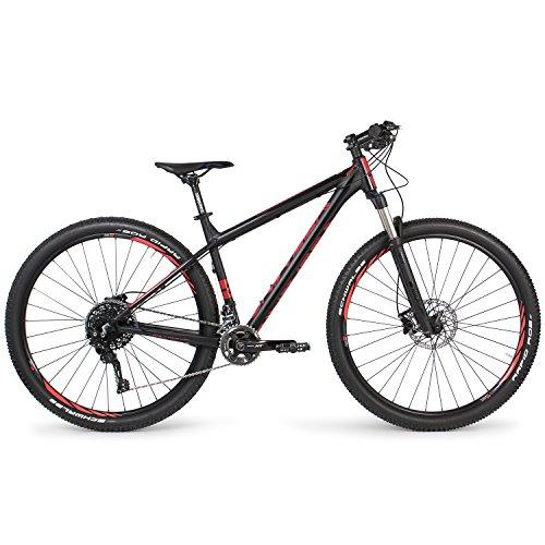 Univega Herren Summit Ltd Fahrrad, Magicblack Matt, 42
