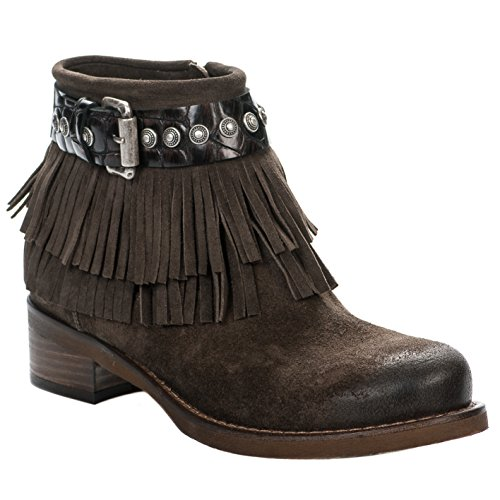Boots femme - MIGLIO - Marron - 3577 A16 - Millim Marron