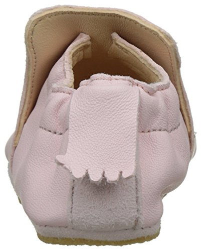 Easy Peasy Blublu Chat, Chaussons Bébé Fille Rose (rose pale/blanc)